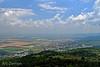 The view from atop Deir Al-Mukhraqa Carmelite Monastery. Elijah beat the priests of Ba'al here.