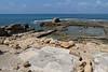 The Mediterranean Sea from Herrod's palace at Caesarea