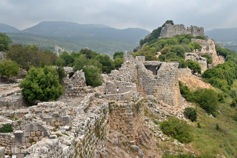 East side of Nimrod Fortress