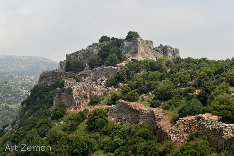 West side of Nimrod Fortress