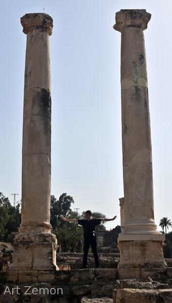 Pillars at Beit She'an