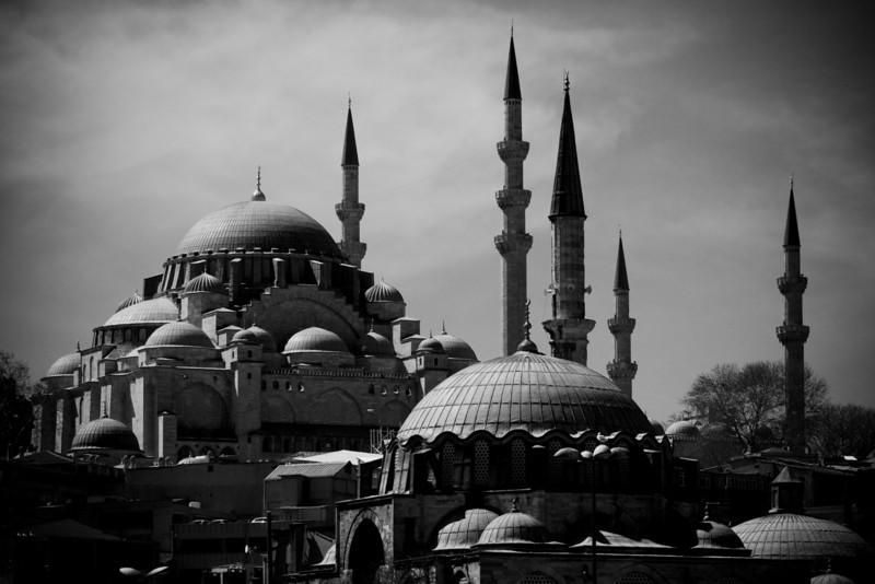 Suleymaniye Mosque from Galata Bridge