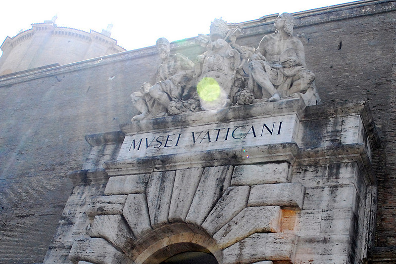 Entrance to the Vatican Museum