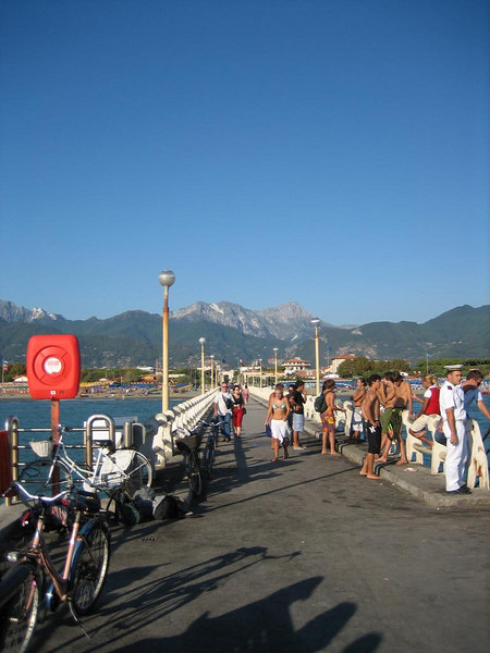 A giant pier