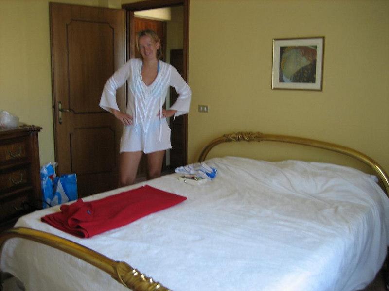 Bedroom in Vosdinovo, the B&B