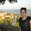 My beautiful bride in beautiful Tuscany
