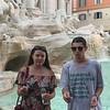 Lisa & Robby Trevi Fountain
