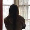 Lisa opening window - maybe London - 2