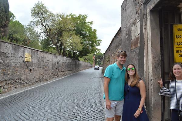 Appian Way and Catecombs