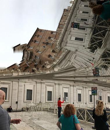 St Peter's Basilica...The Vatican