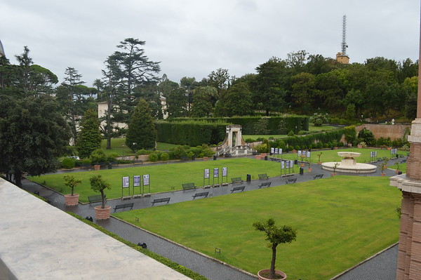 Vatican Museum and grounds