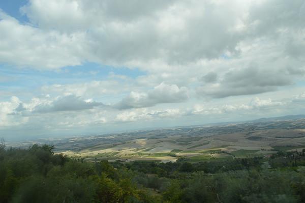 The Italian countryside