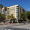 We stayed in a small hotel above a restaurant in Barcelona called the Hotel Ciudadela Parc