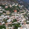 Walking down into Positano from our bus stop