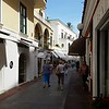 These are Anacapri streets that are lined with very high end stores