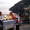 The final dinner in Positano and this was almost 3 hours long!
