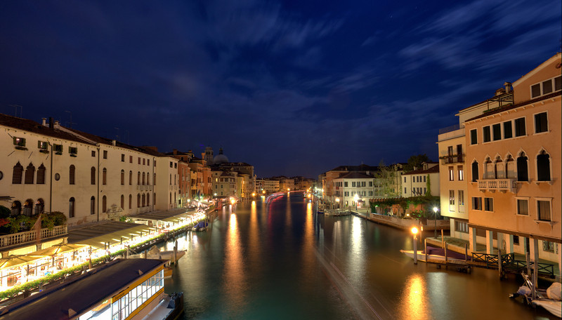 View of Grand Canal from Scalzi Bridge