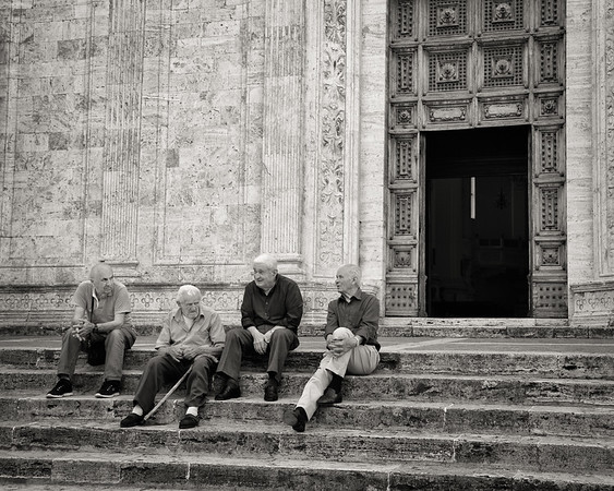 The four wise men of Montepulciano