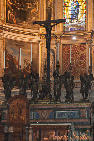 A close-up of the altar.