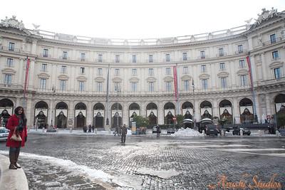 Sag in Piazza della Republica.