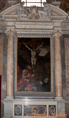 Paintings in St Mary's Basilica