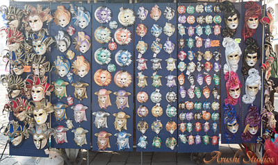 We went during the mask carnival and so we saw a lot of small shops selling these beautiful,colorful masks.