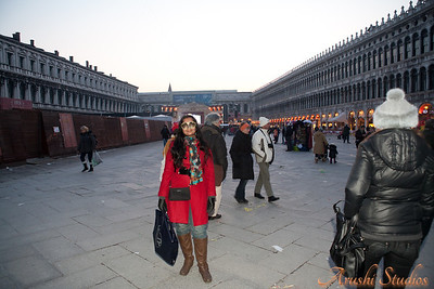 Sag in St Mark's Square