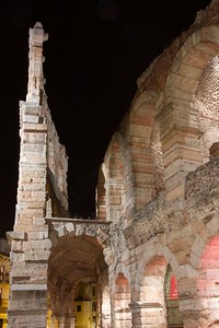 Gita a Verona - Arena in red