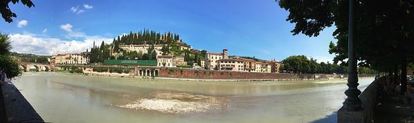 Gita a Verona - Adige upper bend