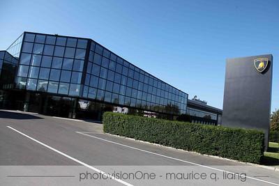 Visiting the Lamborghini factory and museum.