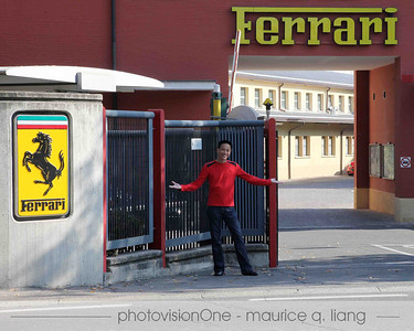We visit the Ferrari factory and museum. (Photo by Jessika)