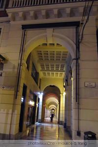 Downtown Bologna.