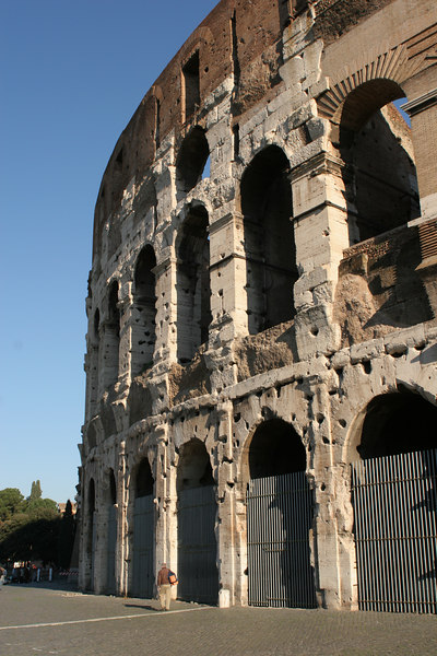 colosseum -- Photo by Sheila Gurovich.