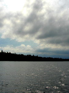 On Lake Itasca, who whats to drive - I have pictures to take...this is color edited a bit...but like it...