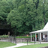 This is the house Jack built.<br /> The tiny house was Jack Daniel's office, built right after he discovered the pure spring water in a nearby cave. A statue of Jack stands in front of the Cave Spring.