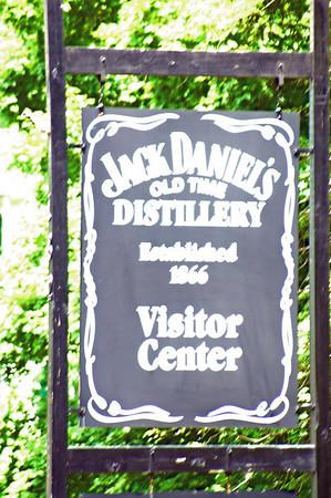 JACK DANIEL'S DISTILLERY, TENNESSEE HILLS.