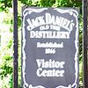 JACK DANIEL'S  OLD TIME  DISTILLERY <br /> Established 1866<br /> Visitor Center