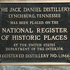 Like the distillery. Jack Daniel started it more than a century ago, making it America's oldest registered distillery. And its still here. Still making whiskey the old-time way.