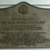 THE JACK DANIEL DISTILLERY<br /> HAS BEEN ENTERED ON THE NATIONAL REGISTER OF HISTORIC PLACES.