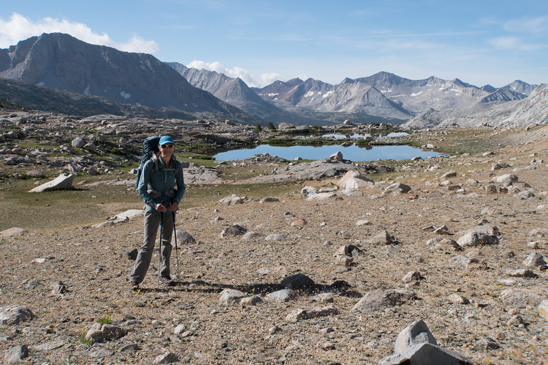 Heading up to Mather Pass