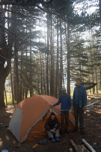 Camp #19, Upper Tuolumne Meadows, near some nice bends in the Lyell Fork