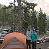 Camp #14, Purple Lake. Alas, it wasn't purple.