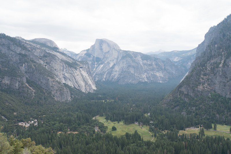 Hey look! There's Half Dome again!