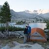 Camp #12 at Marie Lake