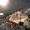 Camp #2 above Guitar Lake