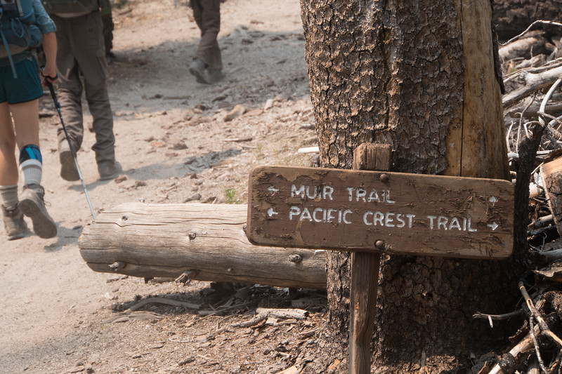 We part with the PCT for a bit here.