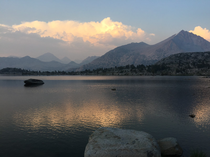 Marie Lake sunset