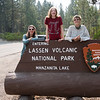 We didn't do a good job of getting away from forest fire smoke. Lassen Volcanic is near Redding, which was close to the Carr Fire. Again, we had no trouble finding a campsite though.
