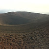 At the top of Cinder Cone