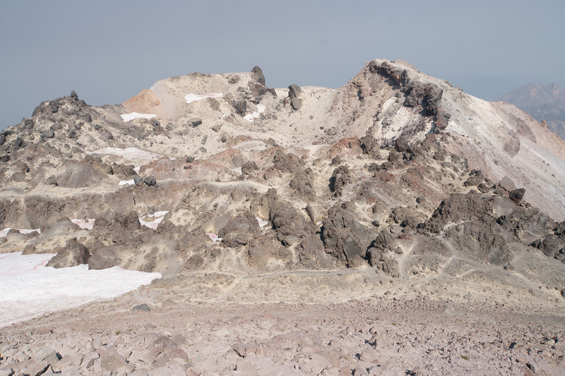 The caldera - it wasn't doing anything exciting.